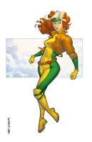 Classic Rogue by spidermanfan2099