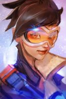 Overwatch Tracer by medders
