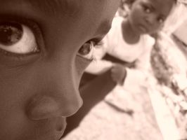 Children of Africa: Eyes by ArchangelSV