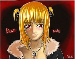 Misa - Death Note - Colour by W-E-Z