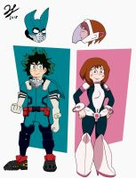 Deku and Uravity - My Hero Academia by PandaKillerGao
