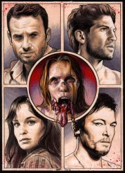 THE WALKING DEAD II by S-von-P