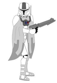 Concept Snow Trooper by FBOMBheart