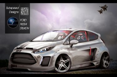 Ford Fiesta Stealth by Subspeed79