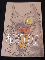 Marcelle for Mic by LytletheLemur