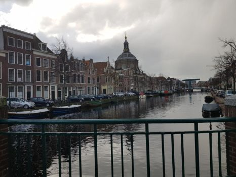Beautiful view - Leiden, Holland by Bieberuhl