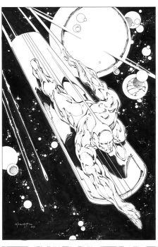 Silver Surfer by INKIST