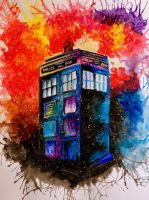 Tardis by Another-Scarlet-Lily