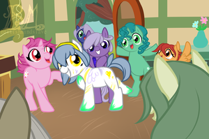 .:MLP: Contest Prize: Open Canvas' Cutie Mark by BritishMindslave