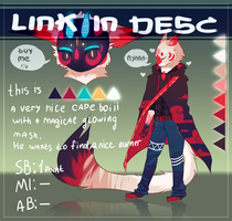 cape boii - Adoptable Auction (CLOSED) by TerenryRM
