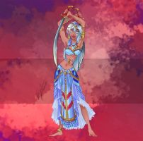 Disney Bellydancers: Double swords by Blatterbury