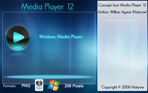 Media Player 12 Icon V2 by Natyvw