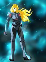 Samus Aran- Zero Suit Redesign Contest Entry by Absolhunter251