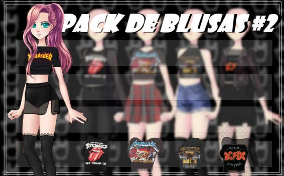 CDM Pack -Blusaspack2 by Yujanitzy