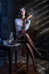 Elizabeth  Bioshock: Burial at Sea by LilSophie