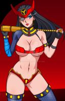 C - Big Barda by igfalcon