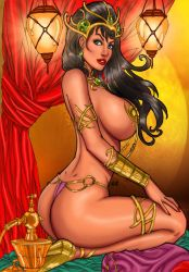Dejah Thoris By Luis Carlos colored by Balandis by hydr1555