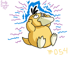 #054 Psyduck by SaintsSister47