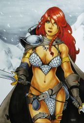 Red Sonja by jvsJuanVargas