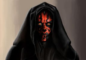 Darth Maul by Callthistragedy1