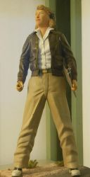 Jacqueline Cochran Figurine at Planes of Fame by rlkitterman