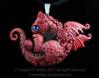 Little Red Dragon by carmendee