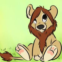 Im a lion rawr by Davuu