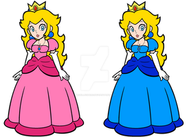 Peach as she appears in my film/TV series by mrbill6ishere
