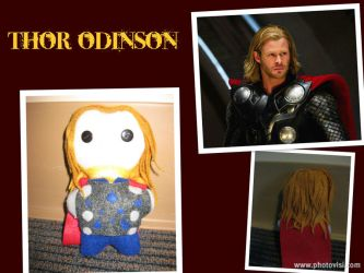 The God of Thunder: Thor -The Plushies- by calceil