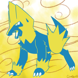 310 - Manectric by CombotheBeehen