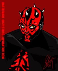 Darth Maul by Inspector97