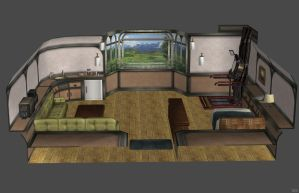 'God Eater: Resurrection' Rooms Pack 1 by lezisell