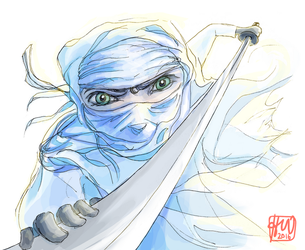 Assassin in White by glimmer22