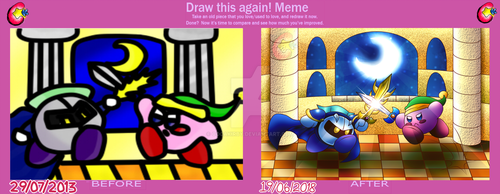 Draw This Again- meme- after 5 Years by cocakirby