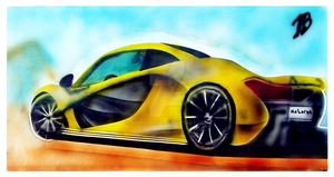 McLaren Airbrush Artwork by ManHoPark