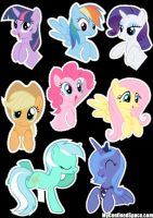 Pocket Ponies 1 by VinylScratch5ever