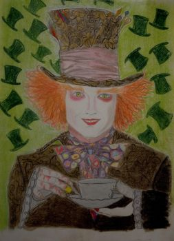 the mad hatter by Fawania