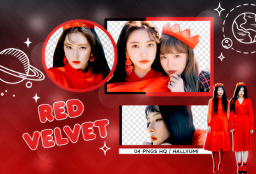 PNG PACK: Red Velvet #1 by Hallyumi