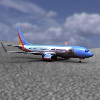 737 Aircraft with SI Coloring by VanishingPointInc