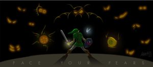 LoZ - Face Your Fears by Redfred92
