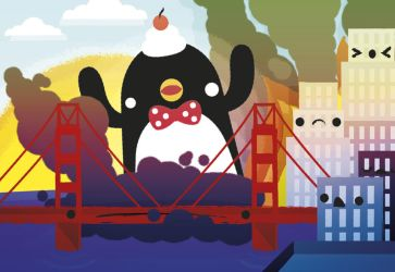 Kawaii Penguin Invasion by SquidPig
