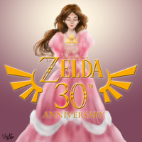 Happy 30th Anniversary to The Legend of Zelda! by gjenniferx