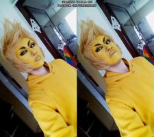 Yellow Diamond makeup by Gekroent