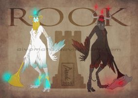 Chess Harpies: Rook 0/2 [Closed] by Aivomata