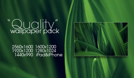 Quality Wallpaper Pack by solefield
