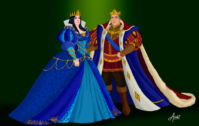 The parents of Snow White by Avniz
