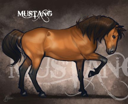 Adult Mustang for Mestengo by AonikaArt