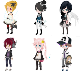 Dream Selfy Adopts DTA/WTA *UPDATED #3* *CLOSED* by nevaehchibi200