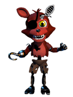 Adventure withered foxy full body*request* by JoltGametravel