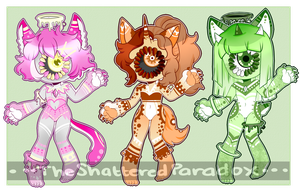 [Adopts]: Celestial Critters (CLOSED) by SimplyDefault